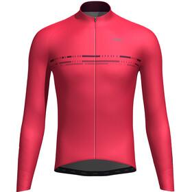 Orbea Advanced Thermal Maglia jersey a maniche lunghe Uomo, rosso